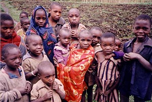 Rwandan children